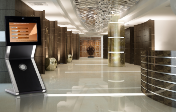 Was ist Digital Signage? Beispiel Hotel-Lobby